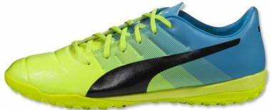 Puma EvoPower 3.3 Turf Safety Yellow/Black/Atomic Blue Men