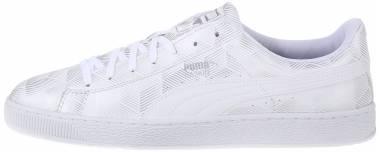 Puma Basket Classic Metal - White (36106902)