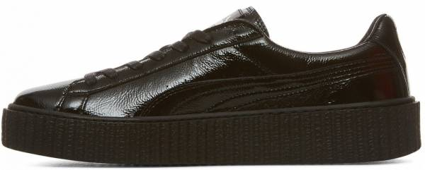 Puma by Rihanna Creeper Cracked Leather Black