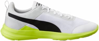 Puma Duplex Evo Rush Prog - Puma White, Puma Black and Safety Yellow