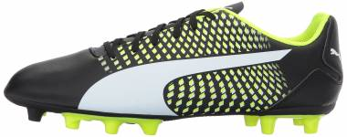Puma Adreno III Firm Ground - Puma Black Puma White Safety Yellow