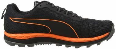Puma Speed Ignite Trail - Schwarz (Black-shocking Orange-quiet Shade)