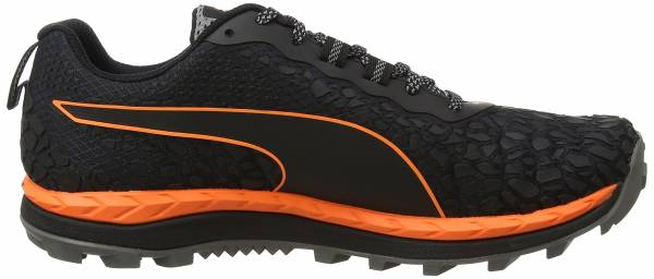 Puma Speed Ignite Trail Schwarz (Black-shocking Orange-quiet Shade)
