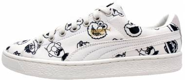 Puma x Sesame Street Basket - White