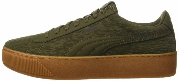 Puma Basket Platform Vr Damen Sneaker Khaki:
