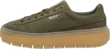 pretty nice 519b2 4d4db Puma Suede Platform Trace