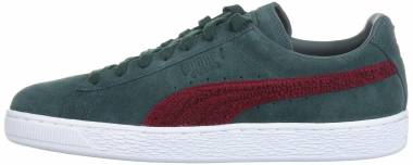 Puma Suede Classic Terry Green Gables-tibetan Red Men