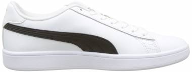 Puma Smash v2 Leather Puma White / Peacoat Men
