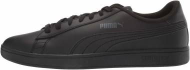 Puma Smash v2 Leather - Puma Black / Puma Black