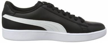 Puma Smash v2 Leather Puma Black / Puma White Men