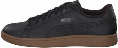 Puma Smash v2 Leather - Puma Black / Gum