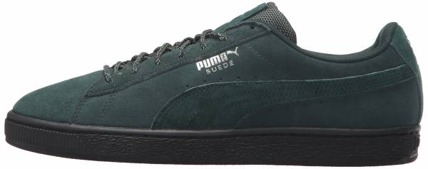 Puma Suede Classic Weatherproof - Green Gables Puma Black