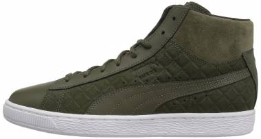Puma Suede Classic Mid Quilt - Olive Night Olive Night (36386703)