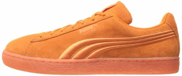 Puma Suede Classic Badge Iced Golden Poppy
