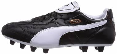 Puma Esito Classico Firm Ground - Schwarz Black White Bronze 01