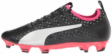 Puma EvoPower Vigor 2 Firm Ground - Puma Black/Puma Silver/Quiet Shade/Bright Plasma