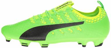 Puma EvoPower Vigor 2 Firm Ground - Green Gecko-puma Black-safety Yellow (10395401)