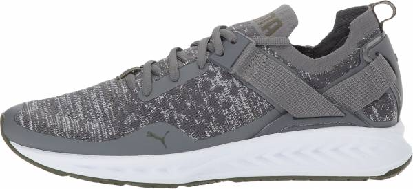 Puma Ignite evoKNIT Lo - Grey Heather