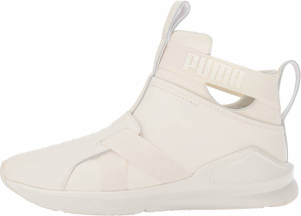 Puma Fierce Strap Leather - White (19056902)