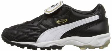 Puma King Allround Turf Schwarz / Weiß / Goldfarben Men