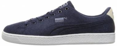 buy popular 9e979 a2869 Puma Basket Classic Embossed Wool