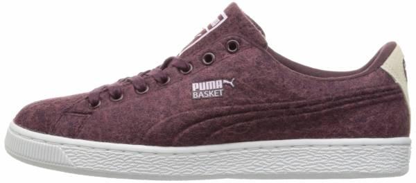 Puma Basket Classic Embossed Wool - Purple