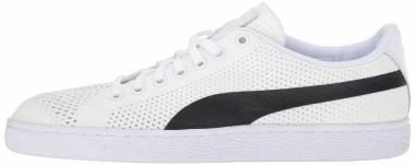 Puma Basket Classic evoKNIT - Bianco Puma White Puma Black 02 (36318002)