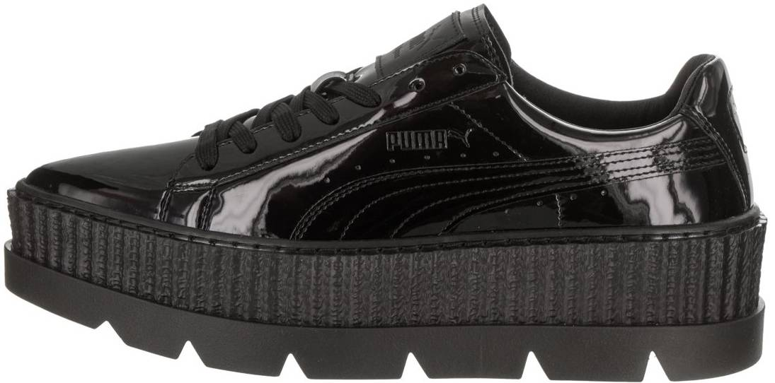 Puma Fenty Pointy Creeper Patent sneakers in black grey (only ...
