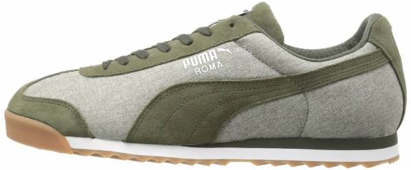 Puma Roma Denim - Burnt Olive/Forest Night
