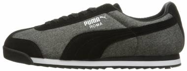 Puma Roma Denim - Puma Black-Dark Shadow