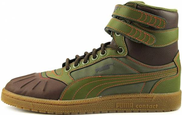 Puma Sky II Hi Duck Boots Green