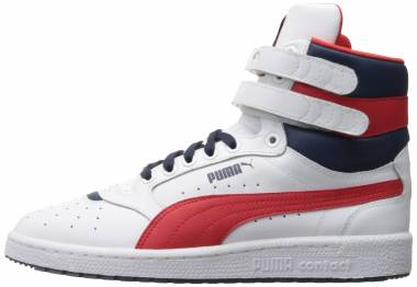 Puma Sky II Hi FG - Puma White/High Risk