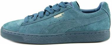 Puma Suede Classic Mono Iced Blue Coral-team Gold Men