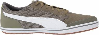 Puma Astro Sala Burnt Olive-puma White Men