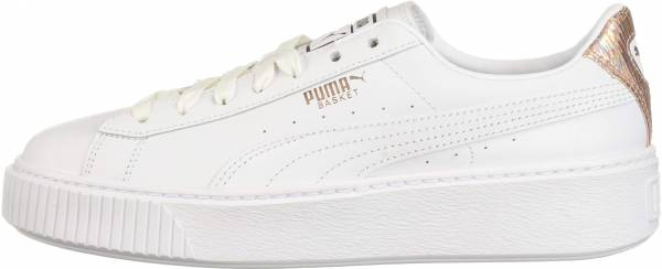 Puma Basket Platform - Puma White-rose Gold (36819002)