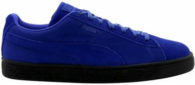 Puma Suede Black Sole - Blue/Black