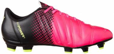 Puma EvoPower 4.3 Tricks Firm Ground - Pink Pink Glo Safety Yellow Black (10358501)
