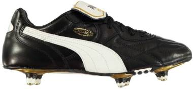 Puma King Pro Soft Ground - Black/White