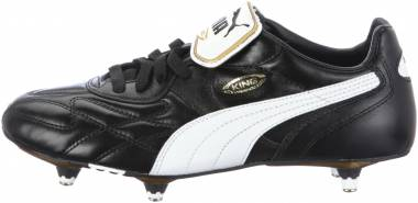Puma King Pro Soft Ground Black (Black/White/Black) Men