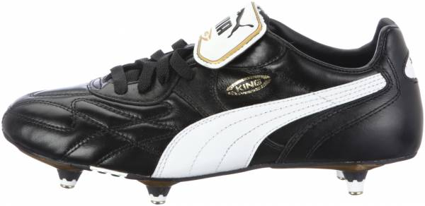 Puma King Pro Soft Ground Black (Black/White/Black)