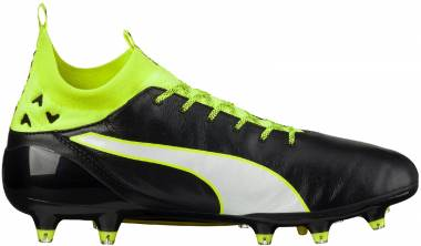 Puma evoTOUCH Pro Firm Ground - Black/White/Safety Grey (10367101)