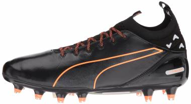 Puma evoTOUCH Pro Firm Ground - Puma Black Puma Black Shocking Orange
