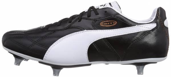 Puma Classico Soft Ground - Schwarz Black White Puma Gold 01 (10335101)