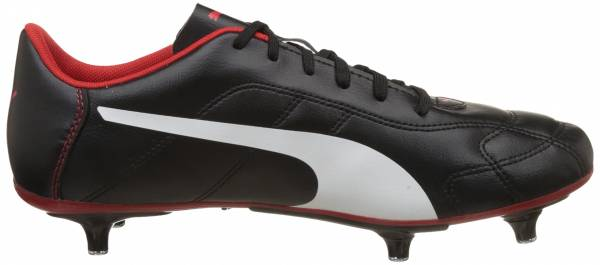 Puma Classico Soft Ground Puma Black-puma White-high Risk Red