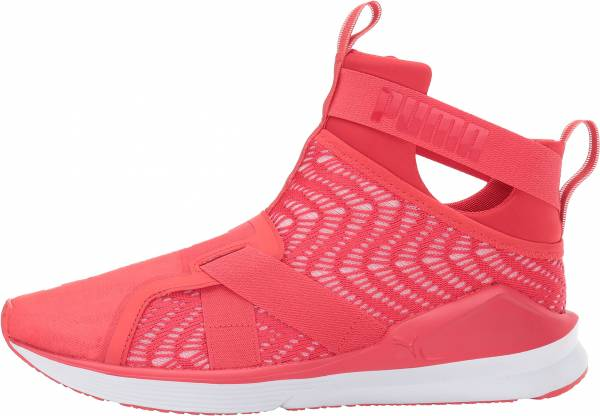 Puma Fierce Strap Swirl Rot (Poppy Red-white)