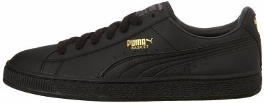 Puma Basket Classic LFS - Black Team Gold