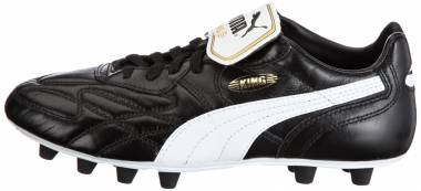Puma King Top di Firm Ground - Black Black White Team Gold (10246301)