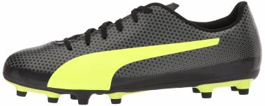 Puma Spirit Firm Ground - Puma Black-fizzy Yellow-castor Gray (10449203)