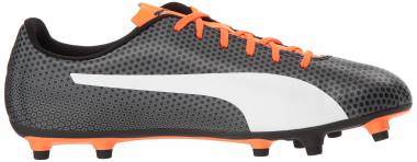 Puma Spirit Firm Ground - Puma Black-puma White-shocking Orange (10449206)