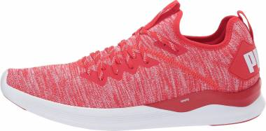 Puma Ignite Flash evoKNIT  - High Risk Red/White